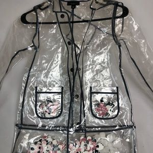 A clear raincoat from Victoria Beckham for Target
